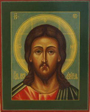 Икона Господь Вседержитель Венчальная пара