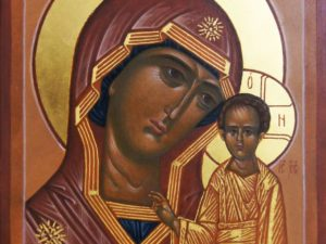 Икона Образ Пресвятой Богородицы Казанская