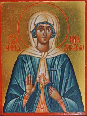 Икона Святая Ника