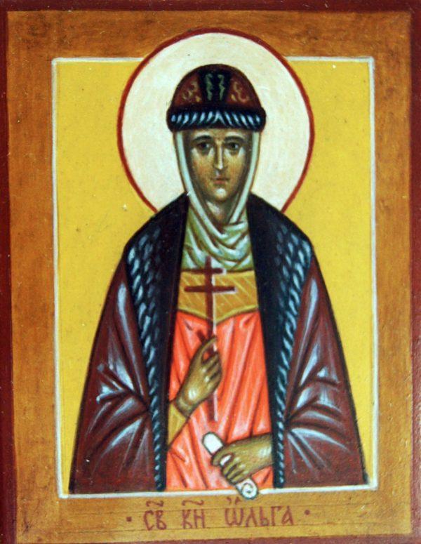 Икона Святая княгиня Ольга