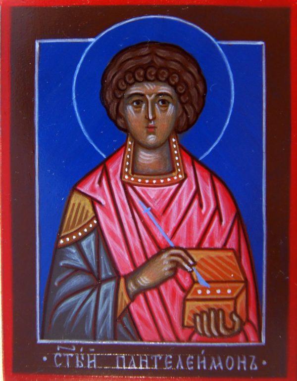 Икона Cвятой Пантеилимон
