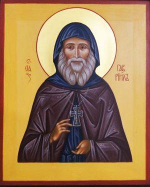 Икона Святой Гавриил Ургебадзе
