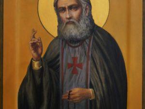 Икона Святой Чудотворец Серафим Саровский