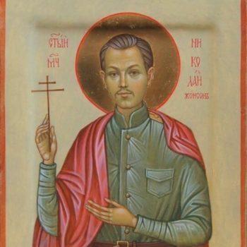 Икона святого Николая Жонсона
