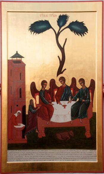 Икона «Троица Зырянская»