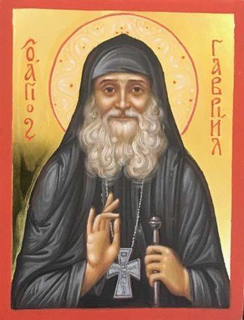 Написан новый образ преподобного Гавриила (Ургебадзе)
