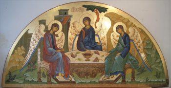 Написан новый образ Святой Троицы