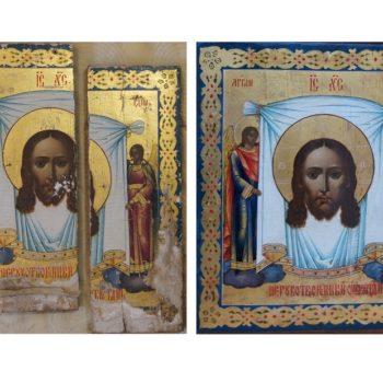 Реставрация икон в нашей мастерской
