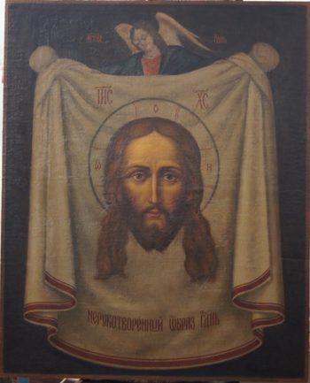 Реставрация образа «Спас на Убрусе»